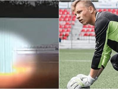 サッカー選手に落雷直撃の瞬間動画
