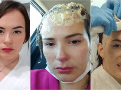 不審者が美人の頭に接着剤キャップ事件