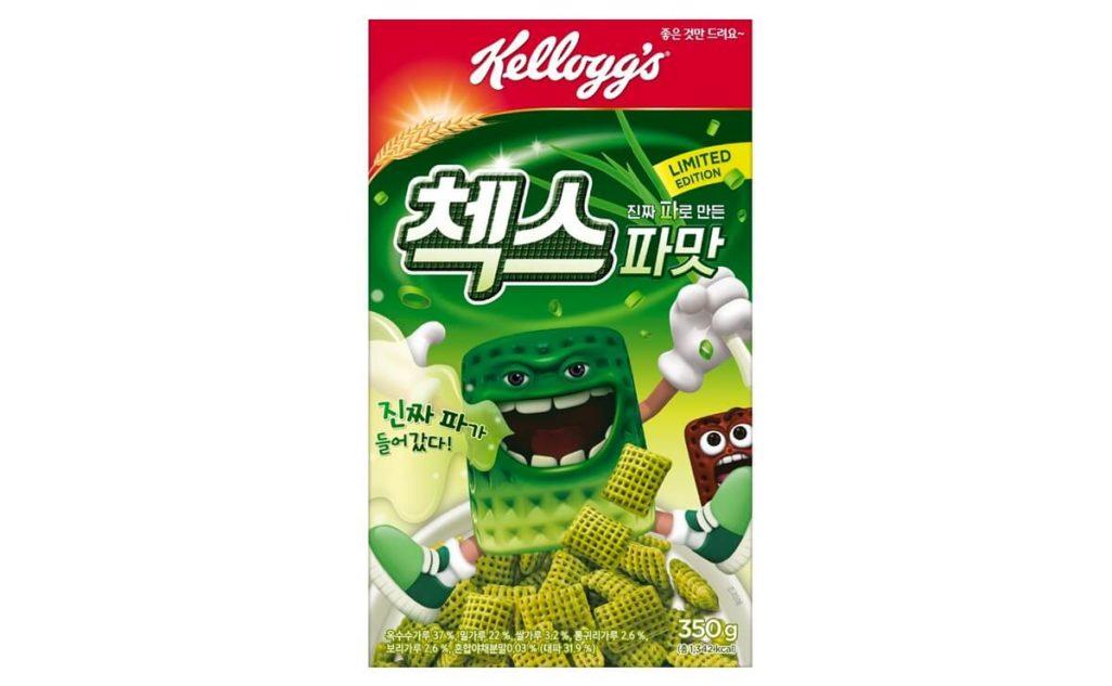 韓国ケロッグがネギ味シリアル発売