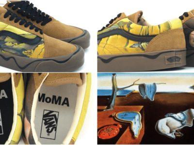 ダリとVANSとMomaのコラボスニーカー