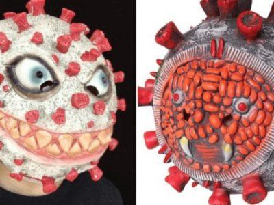 ハロウィン向けコロナ仮装マスクに苦情殺到