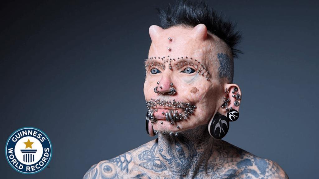 ギネスが認めた世界一の身体改造男