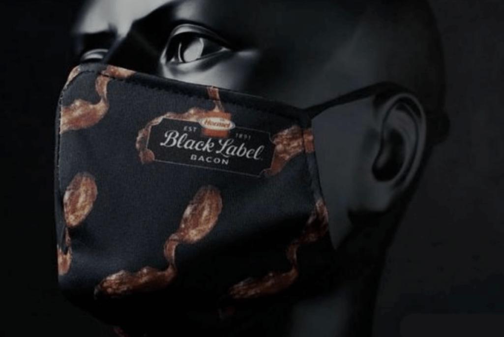 ベーコンの匂いのマスク