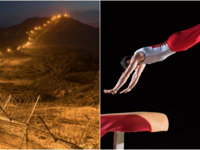 北朝鮮の体操選手がジャンプ力活かして脱北成功