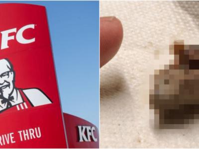 KFCフライドチキンでニワトリの脳ミソ混入事件