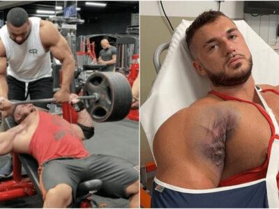 ベンチプレスで筋肉崩壊