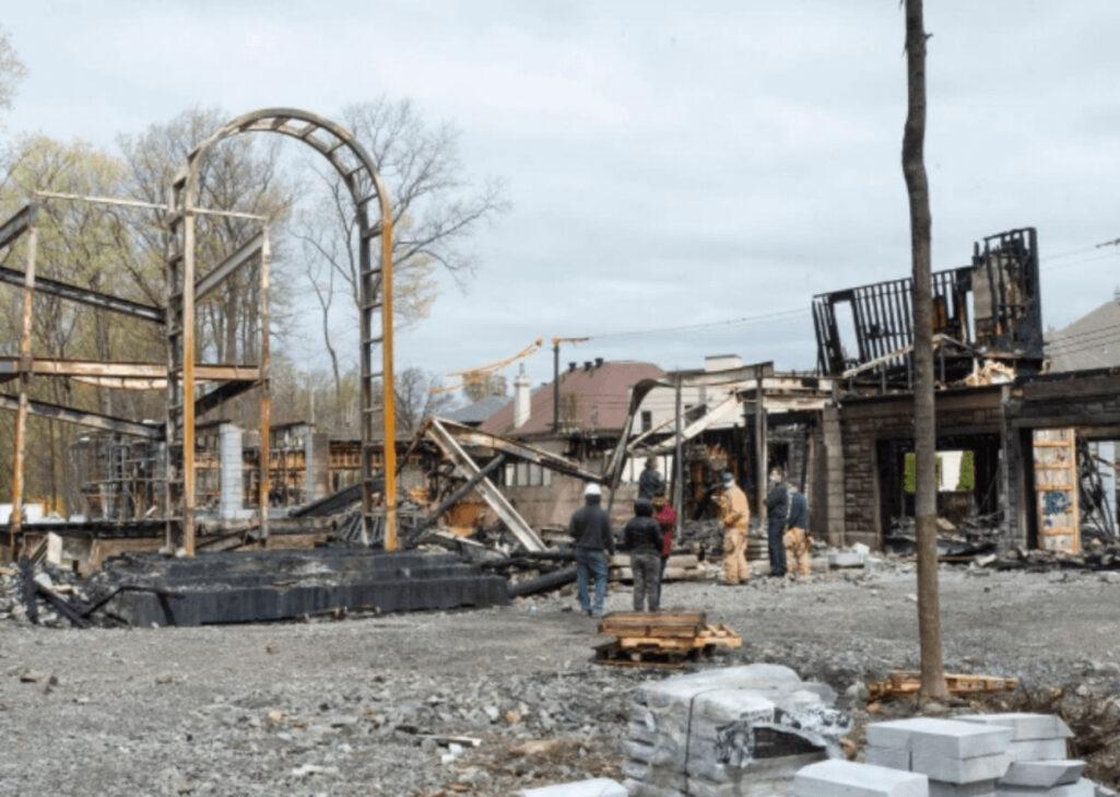 PornHub創業者の大豪邸が放火被害で全焼