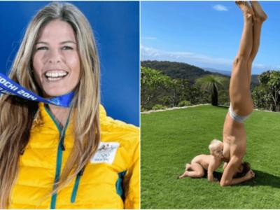 逆立ち授乳でオリンピック金メダリストが炎上