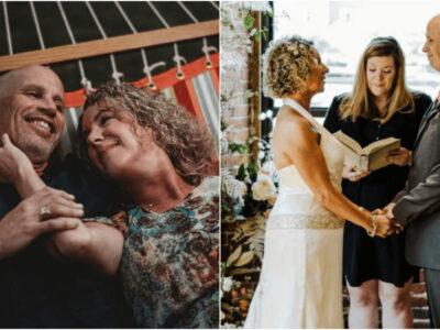 アルツハイマーの夫のため二度目の結婚式