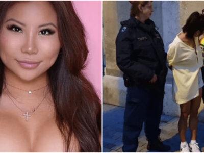 殺人容疑で美人インフルエンサー逮捕