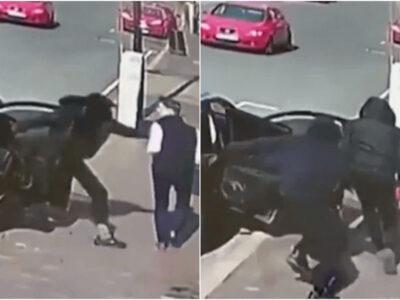 ロレックス強盗の犯行の瞬間