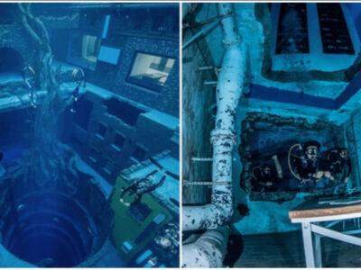 世界一深いプールがドバイに誕生