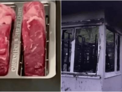 トースターでステーキ焼いて自宅全焼事件