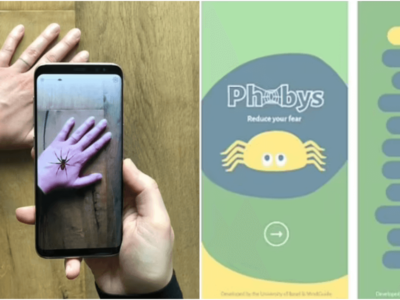 蜘蛛恐怖症を克服するためのアプリ