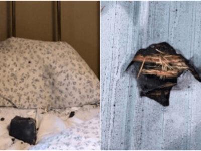 【メテオ】寝てたら隕石がベッドに落下