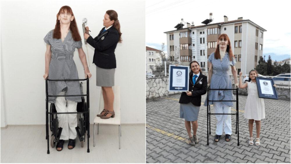 世界一背の高い女性